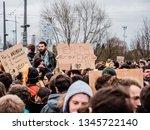 strasbourg  france   mar 15 ... | Shutterstock . vector #1345722140