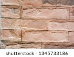 stone background  sand wall... | Shutterstock . vector #1345733186