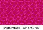 vector seamless illustration... | Shutterstock .eps vector #1345750709