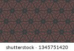 curved line in triangles style. ... | Shutterstock .eps vector #1345751420