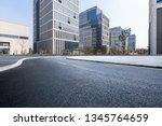 panoramic skyline and modern... | Shutterstock . vector #1345764659
