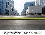 panoramic skyline and modern... | Shutterstock . vector #1345764683