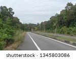 road in phu quoc  vietnam   Shutterstock . vector #1345803086
