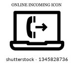 online outgoing call icon....