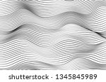 wave lines pattern abstract... | Shutterstock .eps vector #1345845989