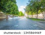 modern city shanghai skyline in ... | Shutterstock . vector #1345864469