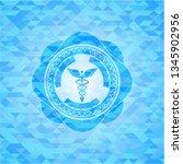 caduceus medical icon inside...   Shutterstock .eps vector #1345902956