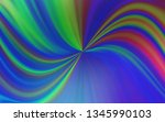 light pink  blue vector blurred ... | Shutterstock .eps vector #1345990103