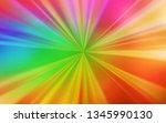 light multicolor vector blurred ... | Shutterstock .eps vector #1345990130