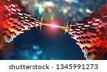 fantastic technologies of...   Shutterstock . vector #1345991273