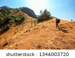 travel and hiking along the... | Shutterstock . vector #1346003720