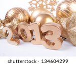 new 2013 year | Shutterstock . vector #134604299