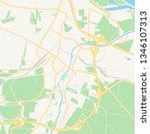 printable map of schwechat ...   Shutterstock .eps vector #1346107313
