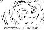 halftone gradient pattern.... | Shutterstock .eps vector #1346110043