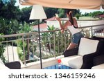 luxury travel. summer holiday...   Shutterstock . vector #1346159246