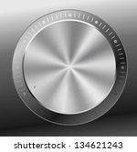 music button volume settings | Shutterstock .eps vector #134621243