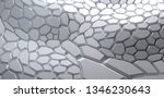 abstract light grey surface for ... | Shutterstock . vector #1346230643