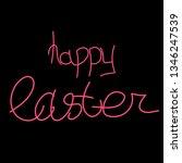 happy easter. christ is risen....   Shutterstock .eps vector #1346247539
