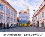 graz  austria   february 16 ...   Shutterstock . vector #1346259470