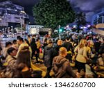 blurred picture of crowd of...   Shutterstock . vector #1346260700