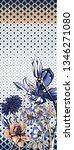 flower geometr c pattern   Shutterstock . vector #1346271080