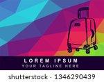 vector illustration rainbow...   Shutterstock .eps vector #1346290439