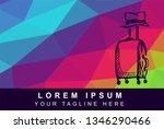 vector illustration rainbow...   Shutterstock .eps vector #1346290466