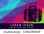 vector illustration rainbow...   Shutterstock .eps vector #1346290469