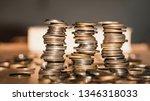 growth money of profitability... | Shutterstock . vector #1346318033