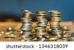 growth money of profitability... | Shutterstock . vector #1346318039