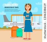 travel agency. organization of...   Shutterstock .eps vector #1346338619