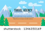 travel agency. organization of...   Shutterstock .eps vector #1346350169