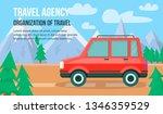 travel agency. organization of...   Shutterstock .eps vector #1346359529