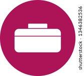 illustration  briefcase icon  | Shutterstock . vector #1346382536