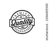 vintage premium quality stamp... | Shutterstock .eps vector #1346405540