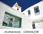 Detail of Sousse street in Tunisia - stock photo