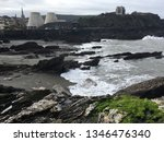 landmarks of ilfracombe s in... | Shutterstock . vector #1346476340