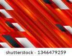 red and orange background with... | Shutterstock .eps vector #1346479259
