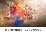 abstract colorful backgrounds... | Shutterstock . vector #134649080
