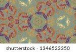 ethnic colorful modern... | Shutterstock . vector #1346523350