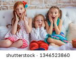 childhood  leisure and family... | Shutterstock . vector #1346523860