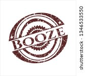 red booze distressed rubber... | Shutterstock .eps vector #1346533550
