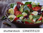 Delicious Salad With Cherry...