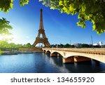 eiffel tower  paris. france | Shutterstock . vector #134655920