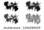 set of brush stroke and...   Shutterstock . vector #1346589659
