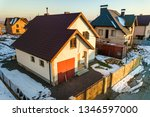 aerial view of new residential... | Shutterstock . vector #1346597000