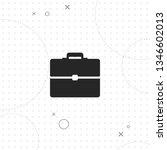 briefcase  portfolio  vector... | Shutterstock .eps vector #1346602013