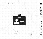 badge  personality   vector... | Shutterstock .eps vector #1346602100