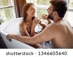 romantic moments in the... | Shutterstock . vector #1346605640