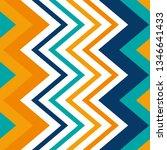 geometric seamless zigzag... | Shutterstock .eps vector #1346641433